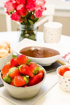 Simple yet divine chocolate fondue