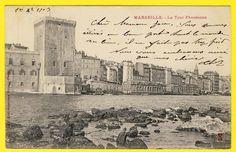cpa Rare 13 - MARSEILLE La TOUR PHOCÉENNE Ed. S.F. Electrographie NEUILLY PARIS | Collections, Cartes postales, France: Provence, Côte-d'Azur | eBay!