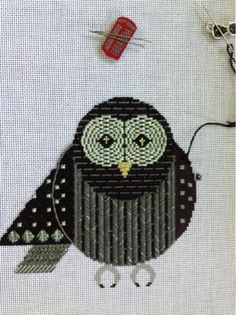 SUKYLADY'S STUDIO: The winged wonder, Charley Harper Barred Owl