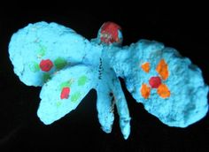 "Matthew10495's art on Artsonia From exhibit ""Paper mache' butterflies"" by Matthew10495 (Art ID #23905192)  from Mount Holly Elementary— grade 2  United States"