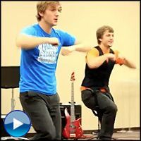 Teenage Twin Boys Perform a Christian Dance That'll Leave You Speechless - Inspirational Video