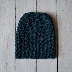 czapka szmaragdowa - molsi - Czapki na drutach