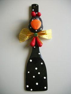 Galinha de Angola produzida artesanalmente em biscuit, peça para decoração R$10,00