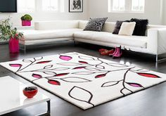 Interior Design Beautiful Rugs for Living room and bedroom design – Home Decorations, Closet Organization Living Room Carpet, Rugs In Living Room, Funky Rugs, Decorating With Pictures, Decoration Pictures, Decor Ideas, Room Ideas, Sofa, Modern Bedroom Design
