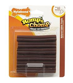 Nylabone Romp 'N Chomp Toy Treat Refill, 12 Count *** Review more details @