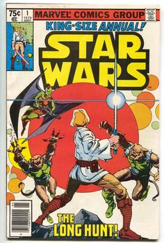 Star Wars Vol 1 Annual 1 Bronze Age Comic by RubbersuitStudios Star Wars Comic Books, Star Wars Comics, Marvel Comic Books, Comic Superheroes, Star Wars Ring, Star Wars Art, Clone Wars, Princes Leia, Don Corleone