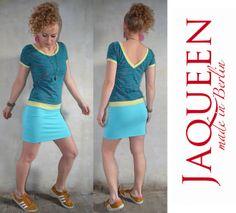 Kleid pinke Enten von Jaqueen auf DaWanda.com