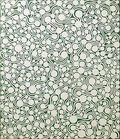 Yayoi Kusama (b. 1929) Germination, soul transmigration, 1990 Acrylic on canvas 21 x 18 in; 53.3 x 45.7 cm