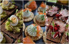 Bufet suedez idei de preparate reci festive Savori Urbane Romanian Food, Breakfast Pancakes, Appetisers, Roast Beef, Antipasto, Meat Loaf, Sushi, Muffin, Ethnic Recipes