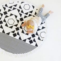 Cotton Dot Playmat