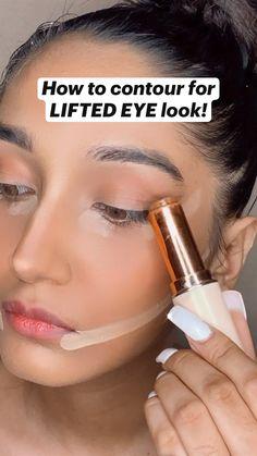 Face Contouring Tutorial, Face Contouring Makeup, Face Makeup, Natural Eyebrow Tutorial, Natural Eye Makeup Step By Step, Natural Makeup For Brown Eyes, Natural Makeup Looks, Blue Eye Makeup, Make Up