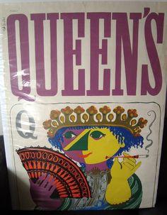 Bjorn WIINBLAD Original Serigraph Silkscreen QUEEN'S Print Poster