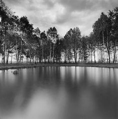 Pond of Human Ashes, Auschwitz- Birkenau, Poland, 1998. Michael Kenna