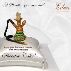 Dales's Eden - A Sheesha you can eat! Enjoy your favourite flavours with this smokeless Sheesha Cake! #hookah #sheesha #cake