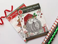 Christmas coloring books for adults gift set, 2 spiral bound adult coloring books combo with special Black Friday discount and free shipping. Since the shipment will be done from India (international/continental shipping), you can expect your product delivery within the next 9-20 days. Title-Gift set containing 2 Christmas coloring books This adult coloring book set contains 2 Christmas coloring books created by Prajakta P. All the coloring pages are hand drawn and specially created for...