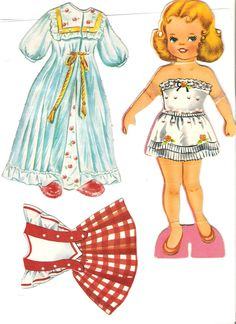 Miss Missy Paper Dolls--- i had gobs of these paper doll sets growing up and was always soooo upset when the little paper tabs that held the clothes on tore and rendered the clothing useless. ha ha! ah yes, the early fashion-frustrations!