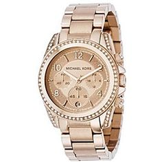 @Overstock - A rose goldtone bracelet defines this uniquely chic Michael Kors watch. The women's timepiece is finished with a clean, golden dial. http://www.overstock.com/Jewelry-Watches/Michael-Kors-Womens-MK5263-Rose-Goldtone-Watch/5336896/product.html?CID=214117 $178.55
