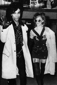 Prince and Sheila
