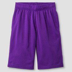 Boys' Mesh Short Purple XL - C9 Champion, Boy's, Purple Polish