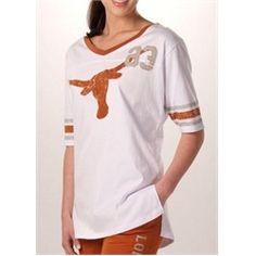 Texas Longhorns Women's Jersey Tunic Shirt