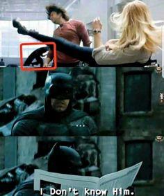 Batman, you're in the wrong universe...