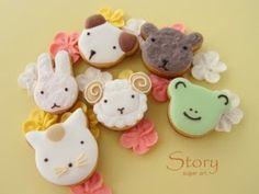 どうぶつのアイシングクッキー|Story sugar art