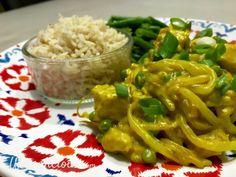 Vegetarian Dinners, Green Beans, Chicken, Meat, Vegetables, Food, Bulgur, Indian, Vegan Dinners