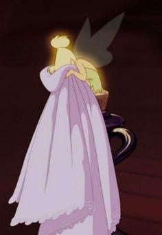 Tinker Bell - Peter Pan, 1953 - ...Always gonna be my favorite. ♥ #waltdisney #jamesmatthewbarrie