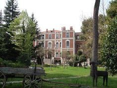 Allatini Villa Thessaloniki, Villa, Mansions, History, House Styles, Historia, Manor Houses, Villas, Mansion
