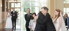Lake Mary Events Wedding - Corner House Photography - Orlando Wedding Photographer- father giving away his bride