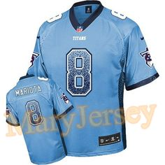 Men's Tennessee Titans Majestic Navy Four Man Front T-Shirt