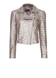 MNG SEQUINED BIKER			$159		  REF. 83103352 - SHINY