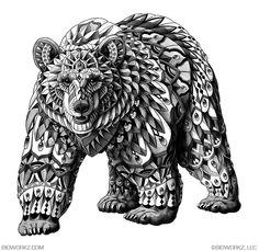ORNATE BEAR     BIOWORKZ.COM     ©BIOWORKZ, LLC