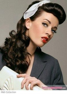 50's hair for Easter tomorrow - 50's hair for Easter tomorrow  Repinly Hair & Beauty Popular Pins