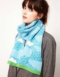 donna wilson - blue scarf
