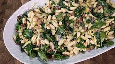 Cavatelli  with Spinach: Clinton Kelly