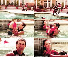 super sweet Naley family moment