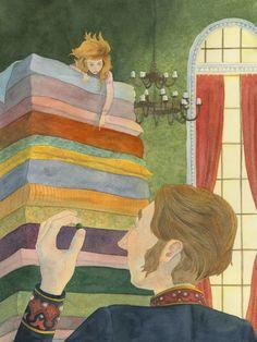 """""""La princesa y el guisante"""" por Danielle Toomer"""