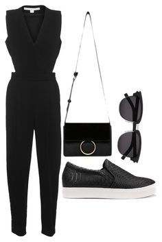 """""""Kendall Jenner's Street Style"""" by annisazatadiny on Polyvore featuring Jonathan Simkhai and Yves Saint Laurent"""