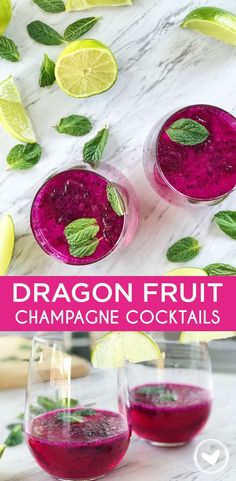 63 Best Dragon Fruit Cocktail And Mocktail Recipes Images In 2020