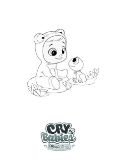 Cry Baby, Baby Coloring Pages, Photo Letters, Printable Activities For Kids, Doll Patterns, Christening, Baby Dolls, Crying, Snoopy
