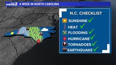 Tornadoes, 2 In, North Carolina