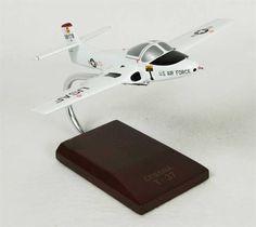 T-37A Tweetie Bird White - Premium Wood Designs #Jet #Military #Aircraft premiumwooddesigns.com