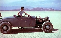 #17 - 1947 dry lakebed racer color photos!
