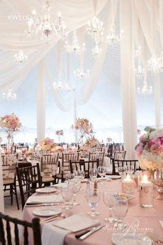 Jaw-Dropping Gorgeous Wedding Flower Ideas / http://www.deerpearlflowers.com/wedding-tent-decoration-ideas/