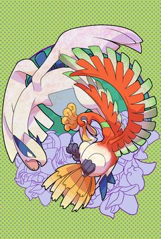 Ho-Oh y lugia Rayquaza Pokemon, O Pokemon, Pokemon Fan Art, Real Pokemon, Pokemon Ships, Pikachu, Pokemon Champions, Pokemon Pictures, Catch Em All