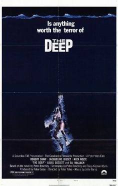 The Deep - Movie Poster - 11 x 17 Add this spectacular poster to your collection today!. This poster measures approx. 11 x 17.. Brand new and expertly rolled and shipped.. This poster is from The Deep (1977).  #Movie_Posters #Home