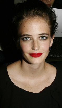 Eva Green   red lips