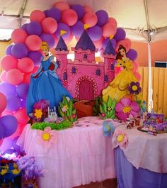 Tulips event providing best disney princess themed birthday party planning and management services for your baby's first birthday in lahore, Tangled Birthday Party, Disney Princess Birthday Party, Princess Theme Party, Birthday Parties, Birthday Ideas, Princess Party Decorations, Kids Party Themes, Birthday Party Decorations, Party Ideas