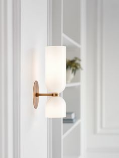 Lightmaker Studio Unveils New Wall Sconces Lightmaker Studio Unveils New Wall Sconces Lightmaker Studio Unveils New Wall Sconces<br> Lightmaker Studio, known for their vintage-influenced modern lighting, is launching new wall sconces at ICFF Sconces Living Room, Bathroom Wall Sconces, Modern Wall Sconces, Wall Sconce Bedroom, Vintage Wall Sconces, Modern Wall Lights, Wall Lamps, New Wall, Sandblasted Glass